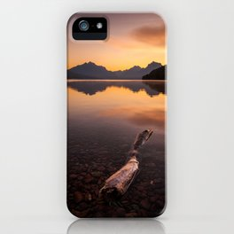 Lake McDonald – Glacier National Park, Montana, USA iPhone Case