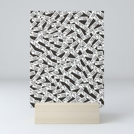 The future is female Mini Art Print