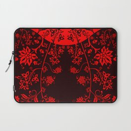 floral ornaments pattern ch Laptop Sleeve