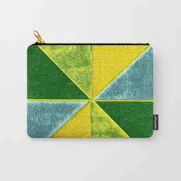 Abs Geometry lemon Carry-All Pouch