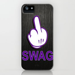 SWAG // F**K iPhone Case