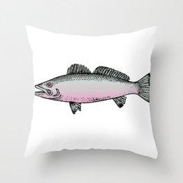 Music True Love Bass Throw Pillow