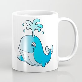 whale cartoon Coffee Mug