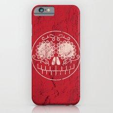 Distressed Sugar Skull iPhone 6s Slim Case
