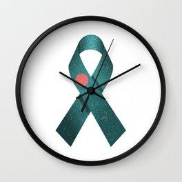 Flag Of Bangladesh Distressed Wall Clock