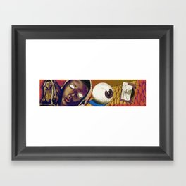 Hunger: Reality in Abstraction Framed Art Print