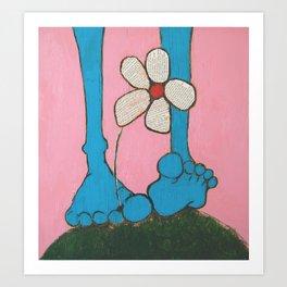 Footloose and Fancy Free Art Print