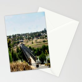 Tailem Bend Bridge over the Murray River Stationery Cards