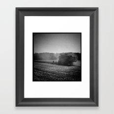 Fields Framed Art Print