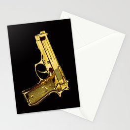 Golden Gun Stationery Cards