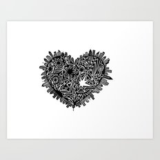 Lotta heart that city Art Print