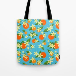 Orange Blossom Daydreams Tote Bag
