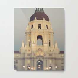 Pasadena. City Hall No.1 Metal Print