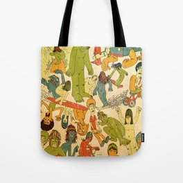 Let's Hit The Beach  Tote Bag