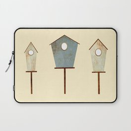Birdy Birdhouse Laptop Sleeve