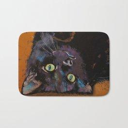 Upside Down Kitten Bath Mat
