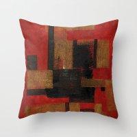 sagittarius Throw Pillows featuring Sagittarius by Fernando Vieira