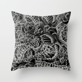 Cobra Snake Abstract Throw Pillow