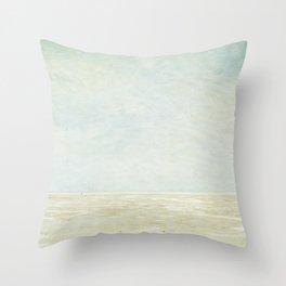Beach Art Throw Pillow