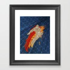 Fly (Homage To T. Hawk) Framed Art Print
