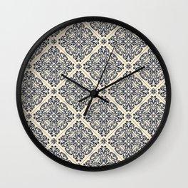 Vintage Victorian Medallion pattern Wall Clock