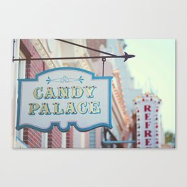 Main Street Sweets Canvas Print