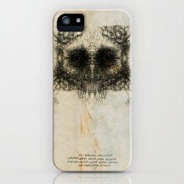 Skulloid II iPhone Case
