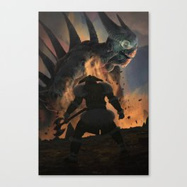Terminator diablo Canvas Print