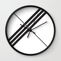 depeche mode Wall Clocks featuring Mode by Alexander Studios