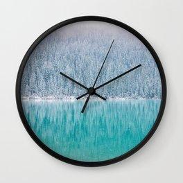 Arctic Blue Wall Clock