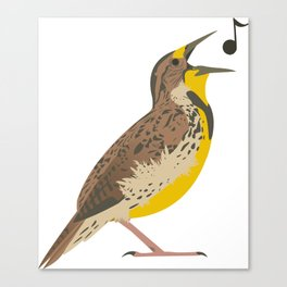 Meadowlark! Canvas Print