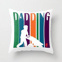 Dadding Throw Pillow