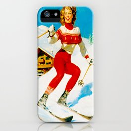 PIN UP GIRL by Gil Elvgren iPhone Case