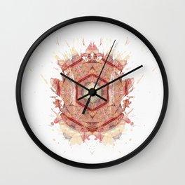 Rorschach inkblot XXI Wall Clock