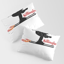 Ski speeding at Killington Pillow Sham