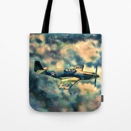 Chained War Bird Tote Bag