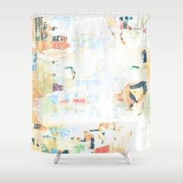Caobstracto Shower Curtain