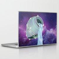 aquarius Laptop & iPad Skins featuring Aquarius by WesSide