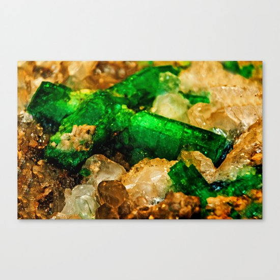 EMERALDS Canvas Print