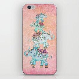 LUCKY ELEPHANTS iPhone Skin