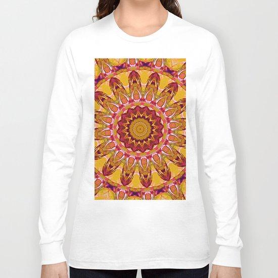 The goldish mandala Long Sleeve T-shirt
