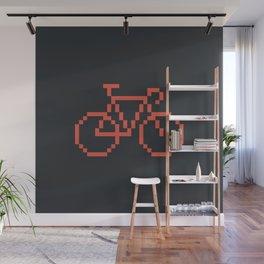 Pixelbike Wall Mural