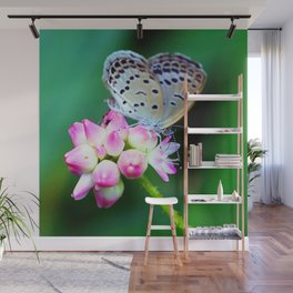 Butterfly and Flower  #buy art  #decor  #society6 Wall Mural