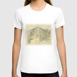 The Dardanelles and The Troad The Bosphorus and Constantinople T-shirt