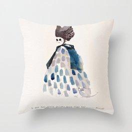Ghost Bitch Throw Pillow