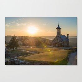 A Golfers Paradise - Top of the Rock - Branson Missouri Canvas Print