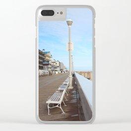 The Boardwalk Clear iPhone Case