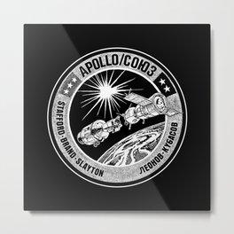 Apollo 18 Soyuz 19 docking mission American crew insignia, - USA-USSR -1975-Space Exploration Metal Print
