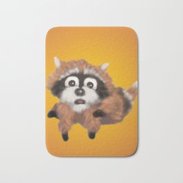 Raccoon Series: Running Scared Bath Mat