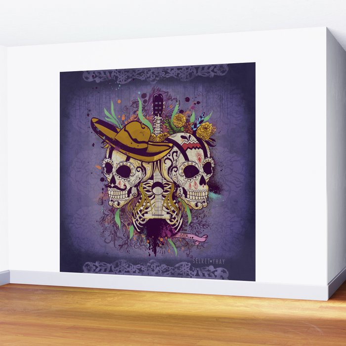 Day of the dead Wall Mural